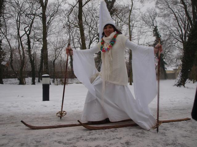 Zámek Loučeň - Bílá zima s Bílou paní