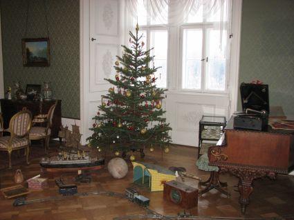 Vánoční prohlídky zámku Hrubý Rohozec