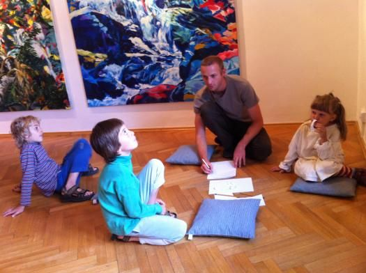 Chodovská tvrz - Rodinné dílny a výtvarné kurzy