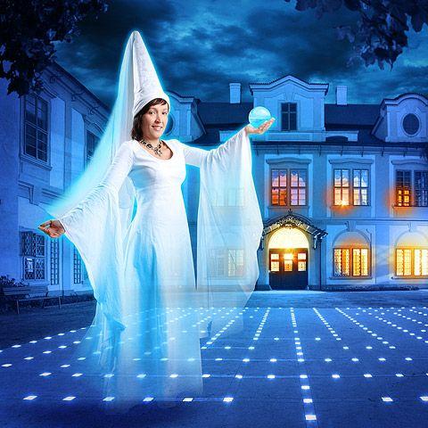 Zámek Loučeň - Třináctá komnata Bílé paní
