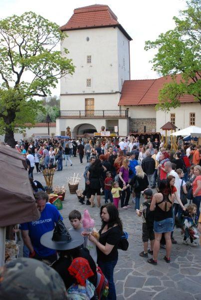 Slezskoostravský hrad - Pálení čarodějnic aneb Filipojakubská noc