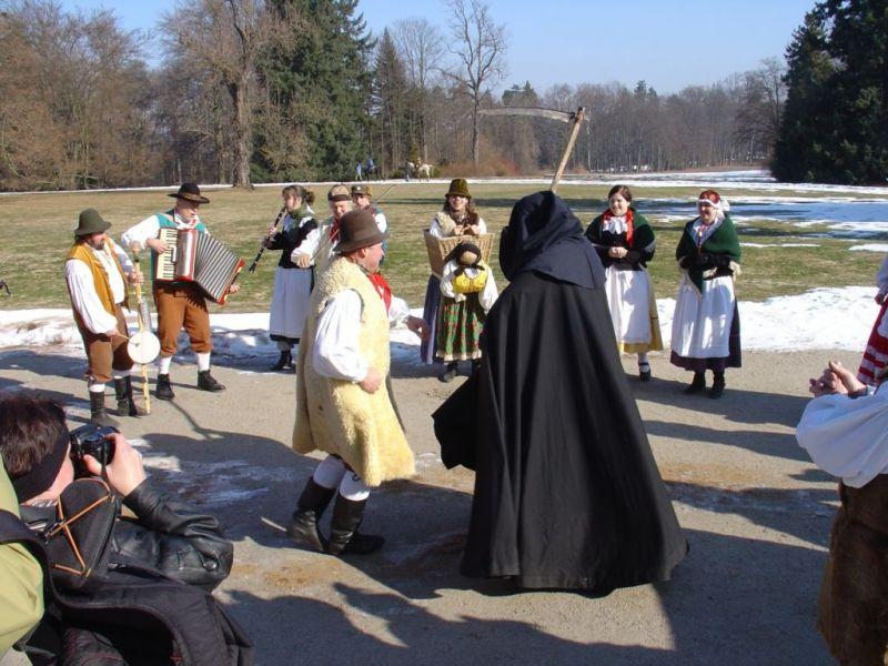 2. zámecký masopust na zámku Sychrov