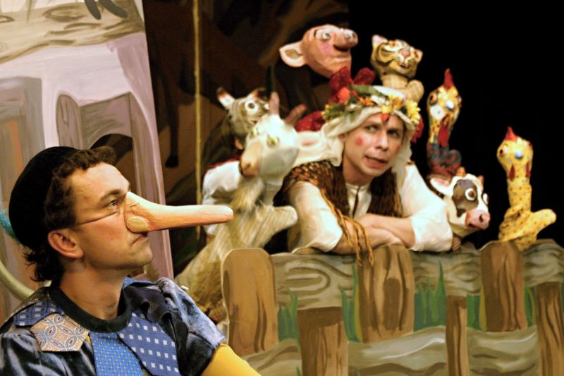 Divadlo Lampion - Představení pro děti