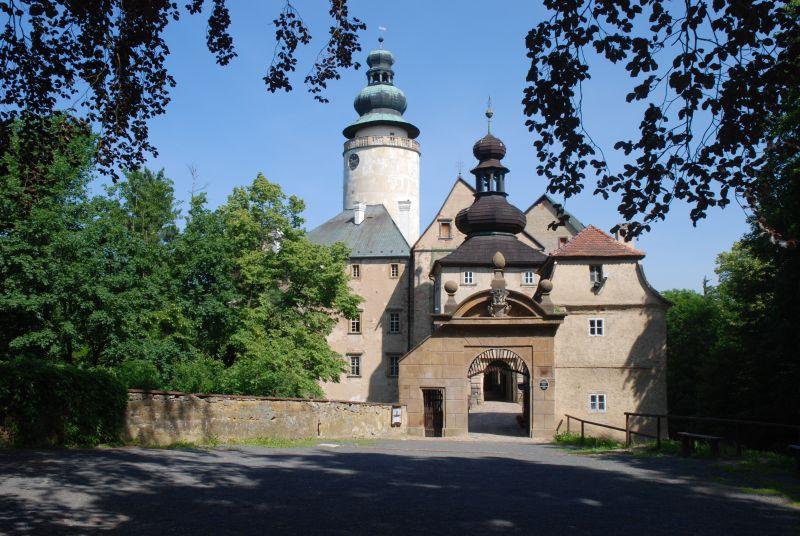 Zámek Lemberk - Oživlé památky na téma: V zahradách