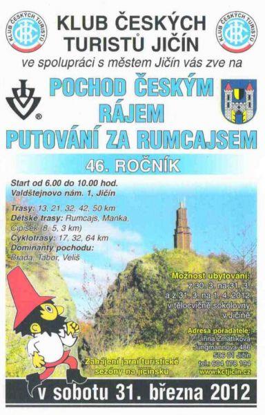 Jičín - Pochod Českým rájem putování za Rumcajsem 2012