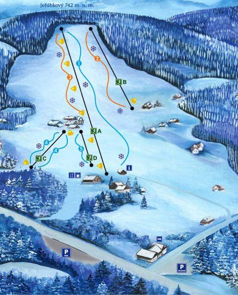 Ski areál U Sachovy studánky Horní Bečva