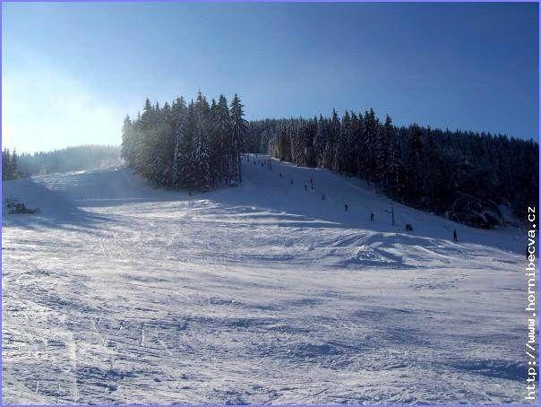 Lyžařský areál Rališka - Horní Bečva
