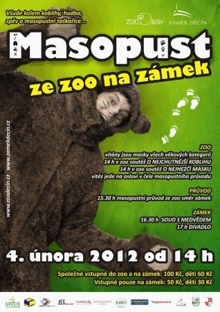 ZOO Děčín - Masopust ze ZOO na zámek