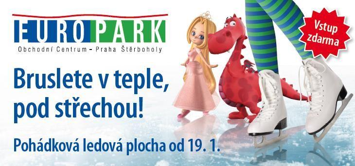 Europark Praha Štěrboholy - Pohádková ledová plocha