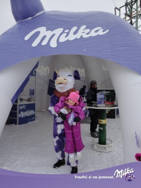 Ski areál Klínovec - Milka Funpark
