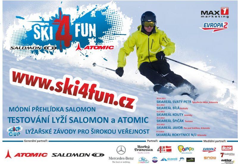 Skiareál Rokytnice - SKI 4 FUN