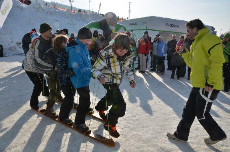 Skiareál Bílá - Škoda Park