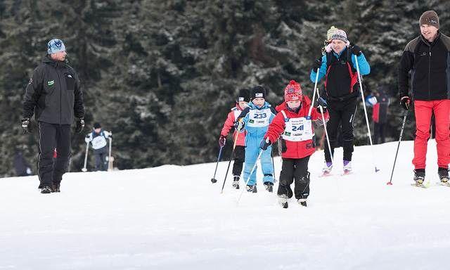 Boží Dar - Stopa pro život 2012 - seriál závodů v běhu na lyžích