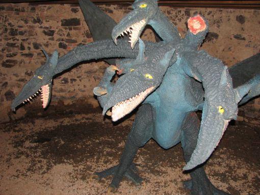 Hrad Švihov - Výstava draků
