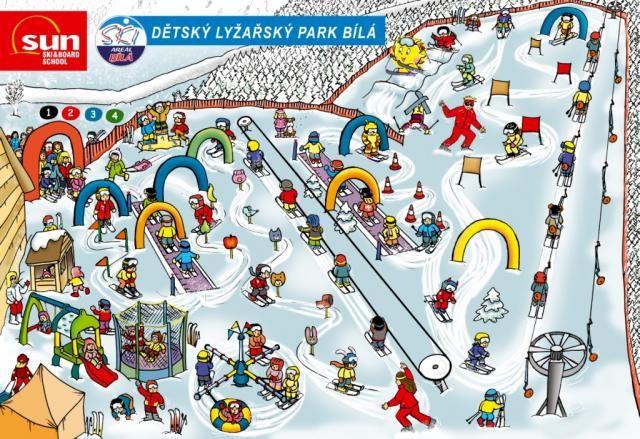 Dětský lyžařský park Bílá, Zdroj: Ski Areál Bílá