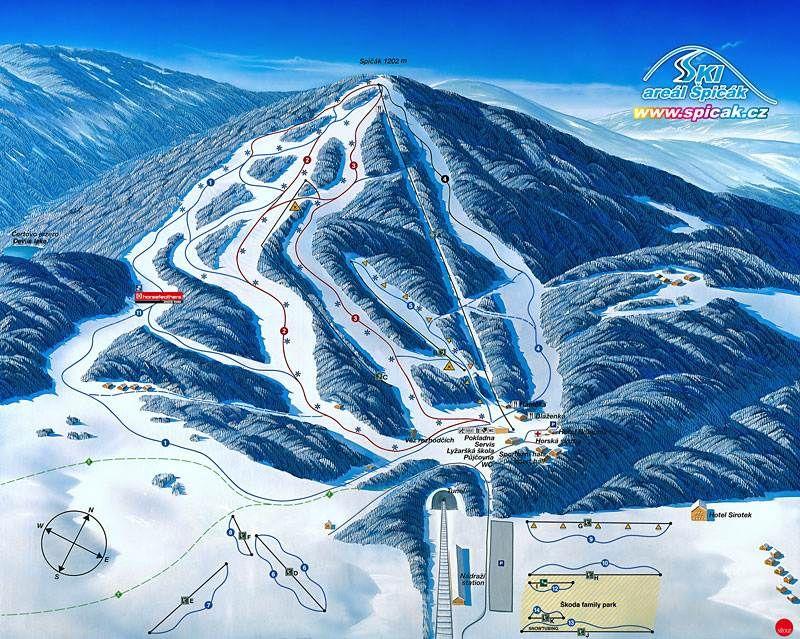 Ski areál Špičák - Železná Ruda