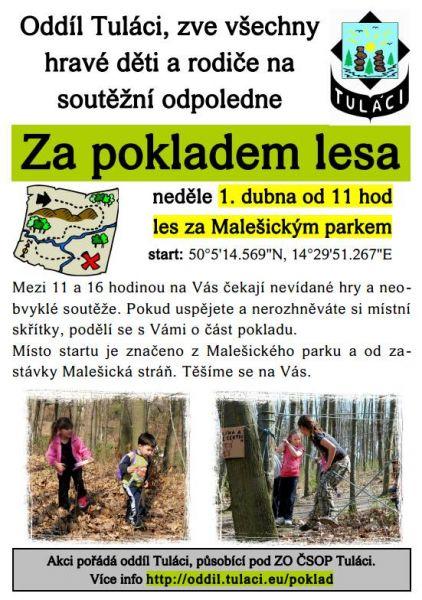 Oddíl Tuláci Praha - Za pokladem lesa