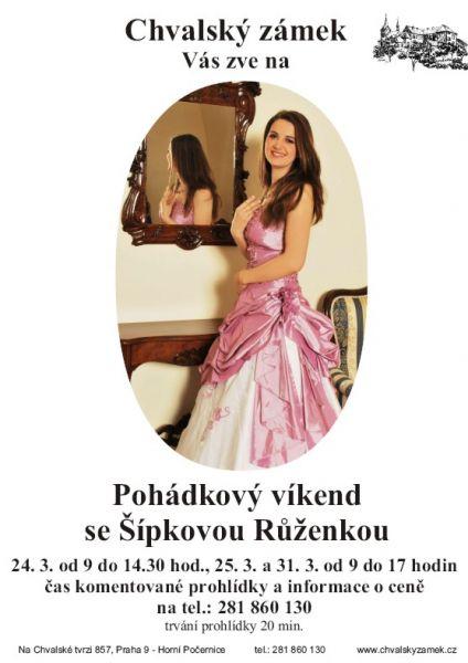 Pohádkový víkend na zámku se Šípkovou Růženkou