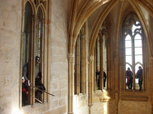 Hrad Bezděz - Zpřístupnění ochozu kaple