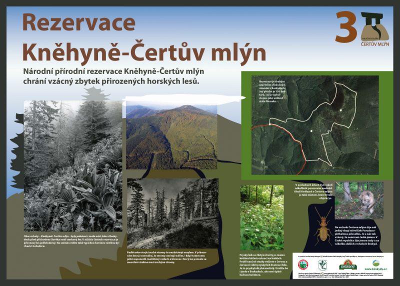 Beskydy - Naučná stezka Čertův Mlýn