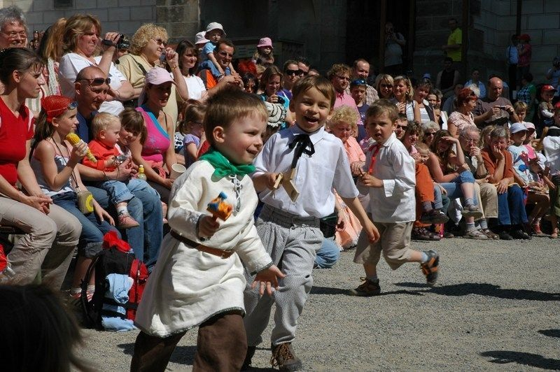 Jarní akce pro děti na hradech a zámcích