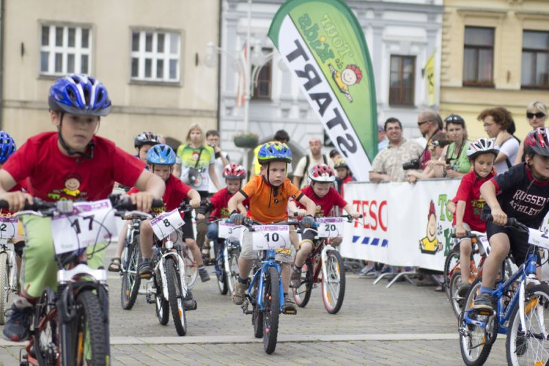 TOUR DE KIDS 2012 - Cyklistické závody pro děti Teplice