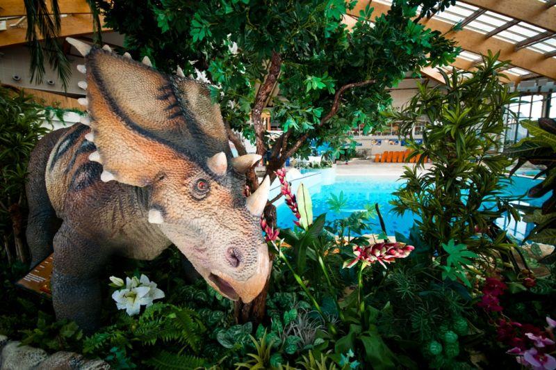 Dinosauři v Aquapalace Praha