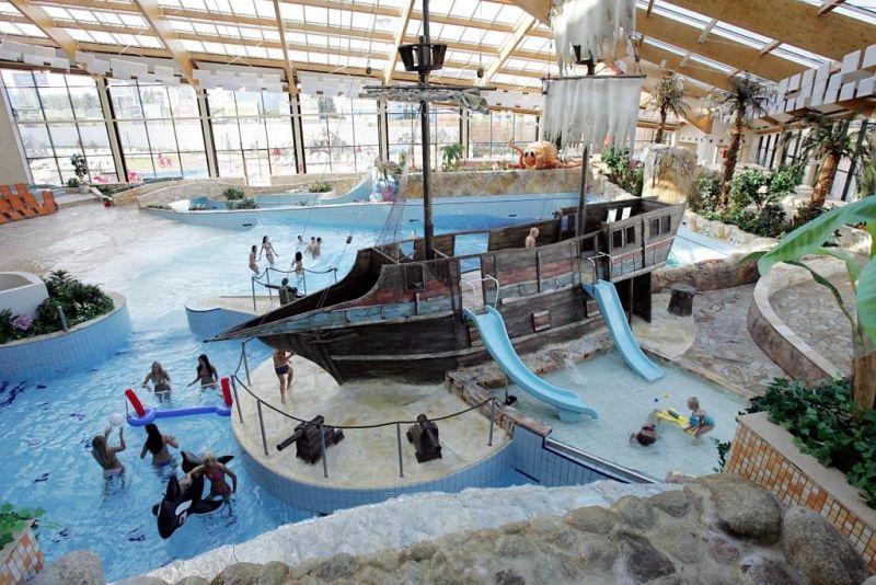 Kam vyrazit s dětmi o deštivém víkendu - Aquapalace Praha