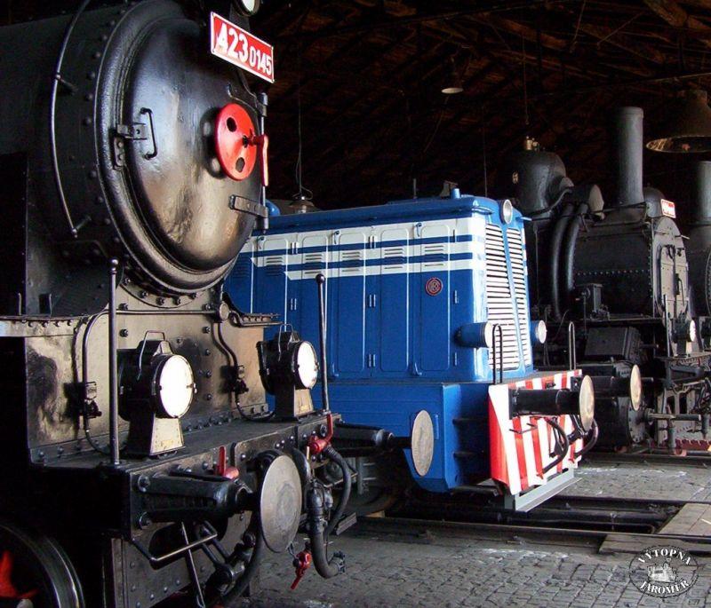 Tip na výlet s dětmi: Nostalgické jízdy historickými vlaky - Železniční muzeum Lužná