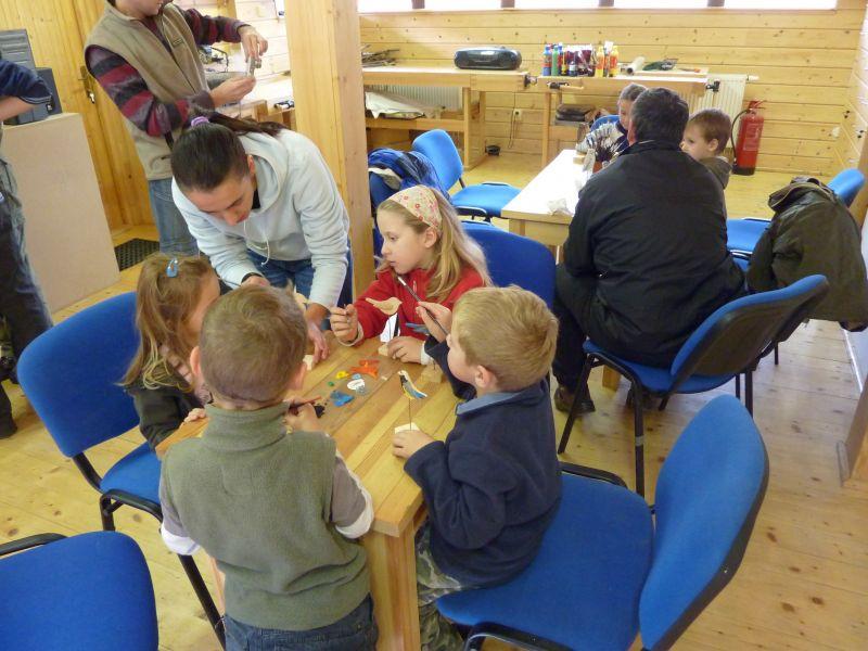 Kam s dětmi, když prší a je nevlídno - Centrum dřevařství Modrava