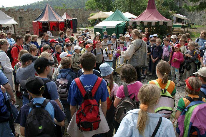 Tipy na akce pro děti – Mezinárodní den dětí 2012 - Hrad Veveří