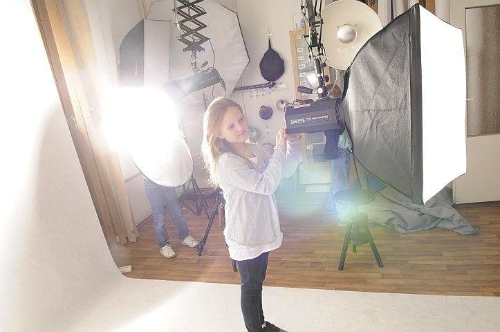 Školní exkurze ve fotoateliéru