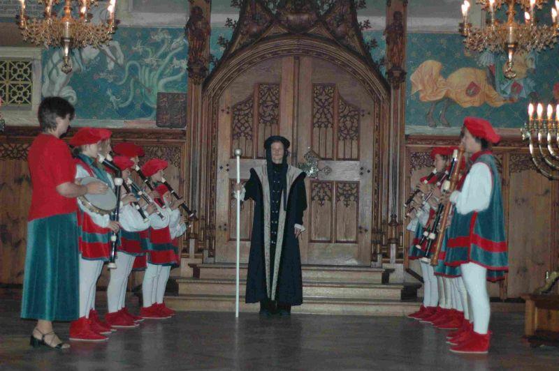 Školní výlet na hrad Bouzov - Putování s Večerníčkem