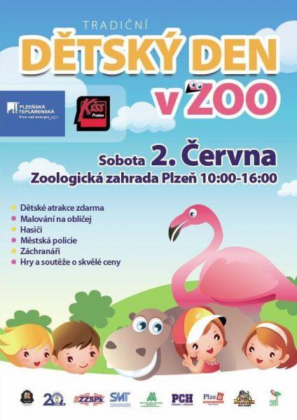 ZOO Plzeň - Den dětí 2012