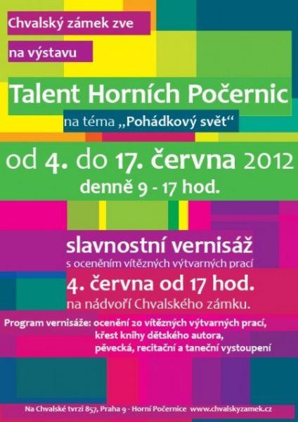 Talent Horních Počernic - slavnostní vernisáž
