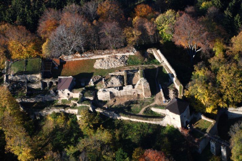 Naučná stezka hrad Lukov