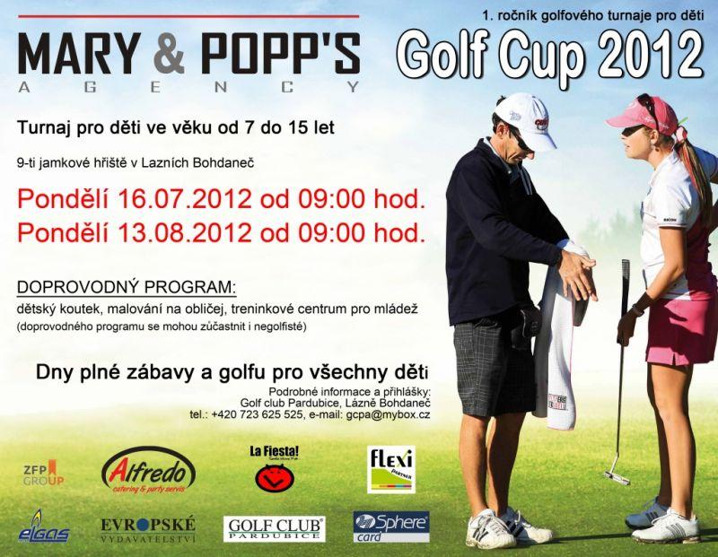 Golfový turnaj pro děti 2012