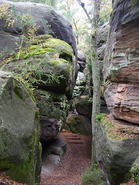 Naučná stezka Besednickými skalami - Chléviště