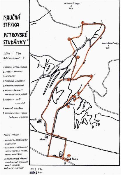 Naučná stezka Petrovské studánky