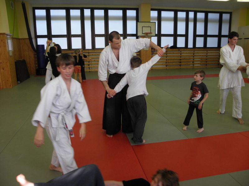 Cvičení aikido – bojové umění