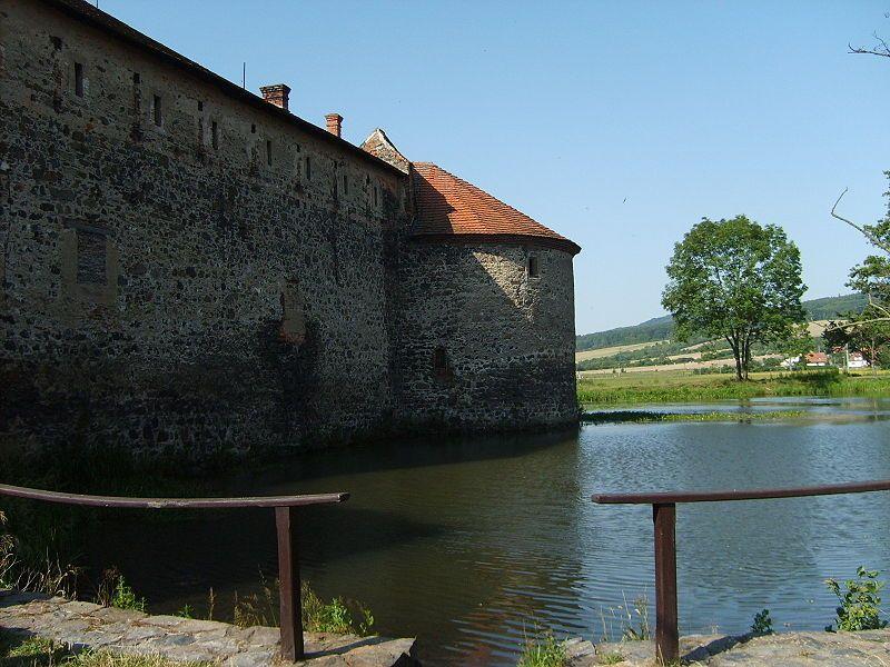 Naučná stezka Švihov a okolí - Vodní hrad Švihov