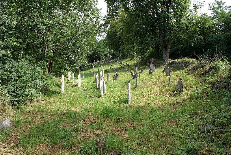 Naučná stezka Švihov a okolí - Židovský hřbitov