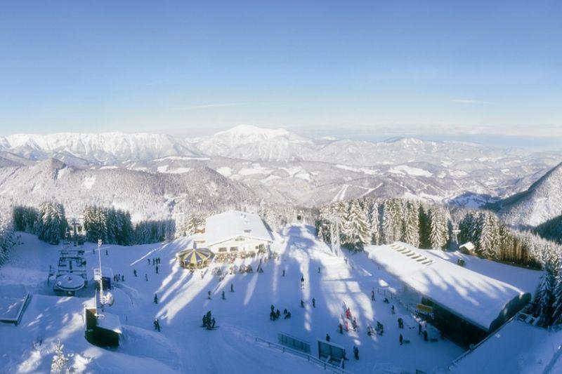 Informace o zimních střediscích Dolního Rakouska