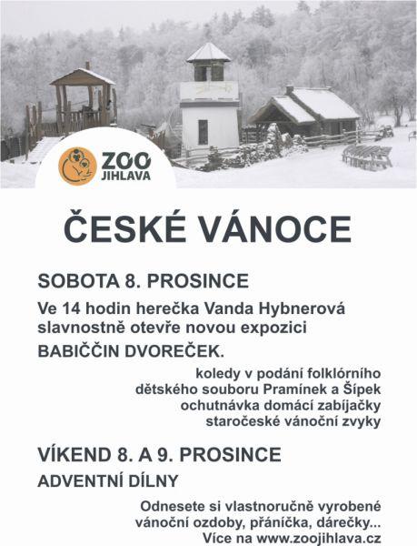 ZOO Jihlava - Adventní dílny  v zoo