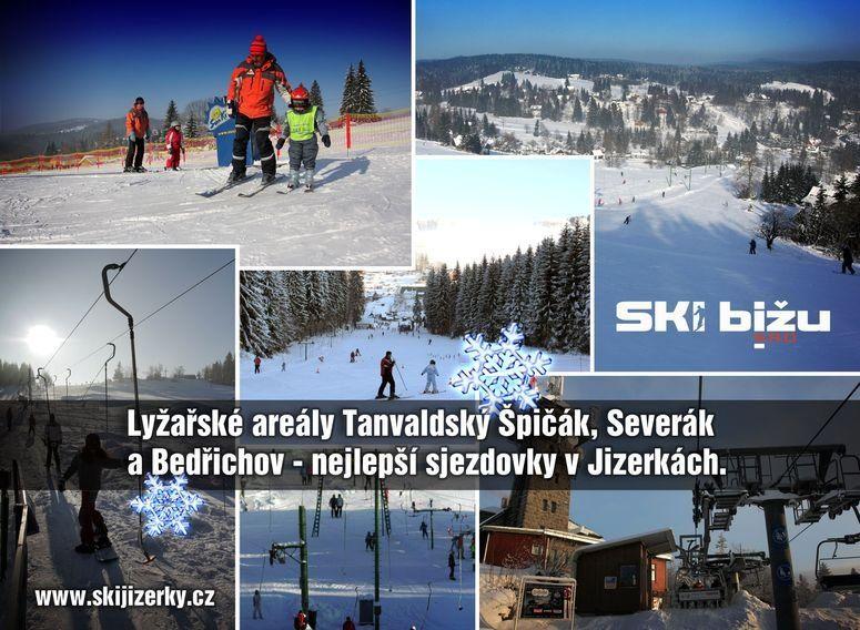 V Jizerských horách se začalo lyžovat