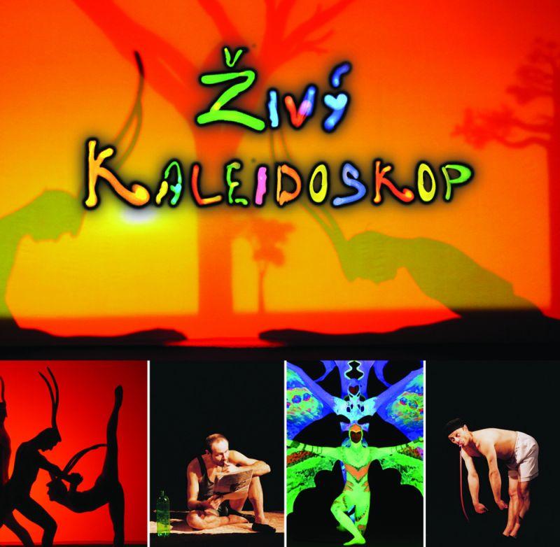 Black Theatre Image Praha - Představení ŽIVÝ KALEIDOSKOP