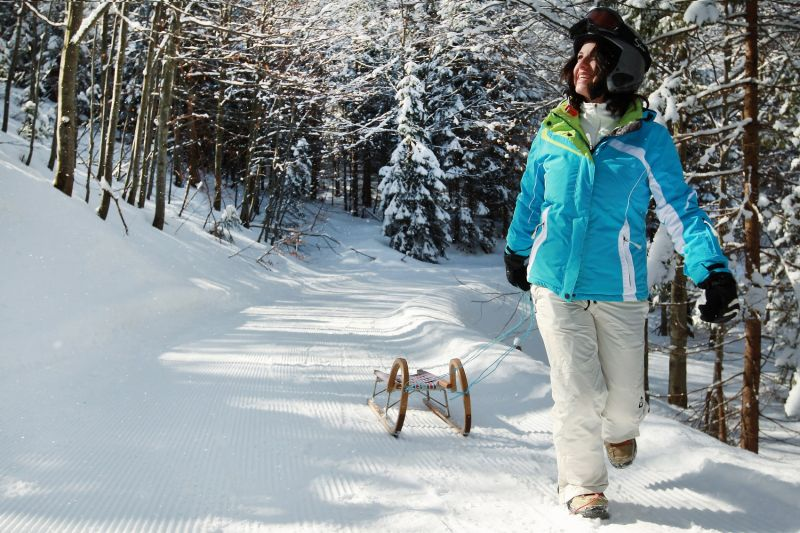 Zimní radovánky v ráji výhledů - Vídeňské Alpy v Dolním Rakousku