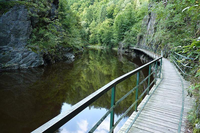 Riegerova stezka – naučná stezka údolím řeky Jizery u Semil