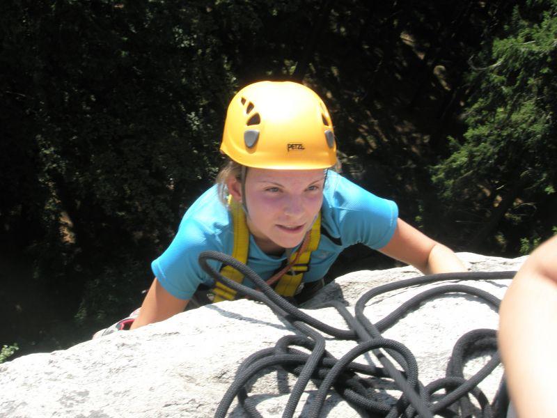 Tábor s horolezeckým výcvikem
