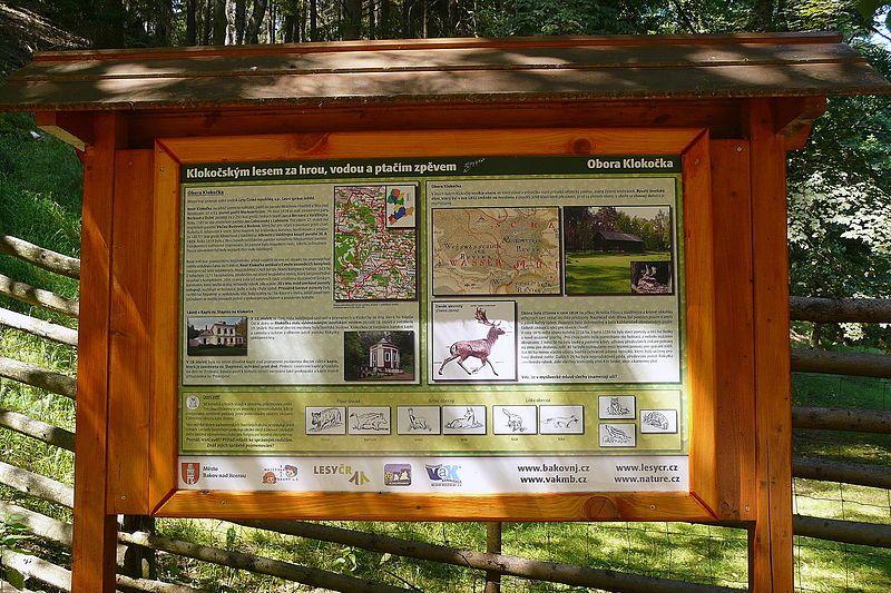 Naučná stezka Klokočským lesem za hrou, vodou a ptačím zpěvem